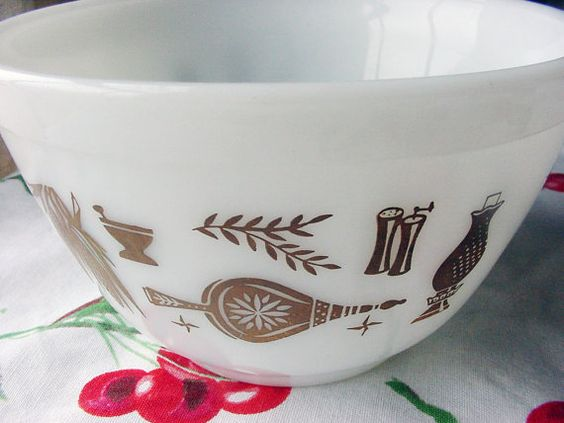 Pyrex Early American 401 Bowl Nesting bowl