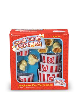 Smart Snacks Count em Up Popcorn from For the Little Chef: Play Kitchens & More Feat. KidKraft on Gilt