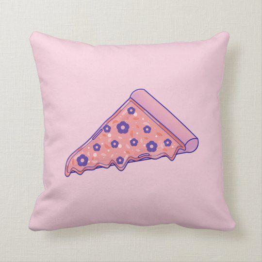 Pizza Throw Pillow Zazzle Com Pillows Throw Pillows Pizza Pillow