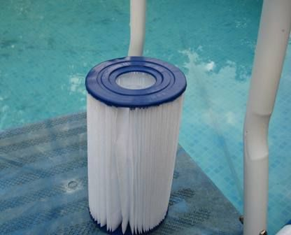 Clean a cartridge type swimming pool filter pools How to clean swimming pool filter cartridge