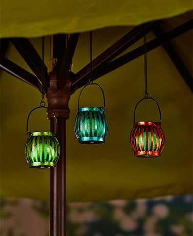 Set of 3 Glow-in-the-Dark Lantern Clips