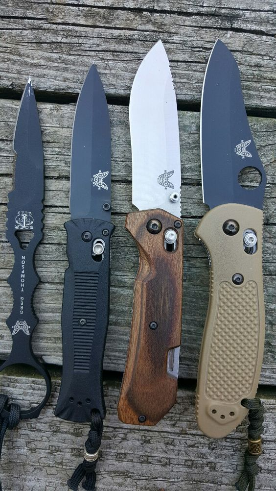 whiskey-wolf: Benchmade Knives