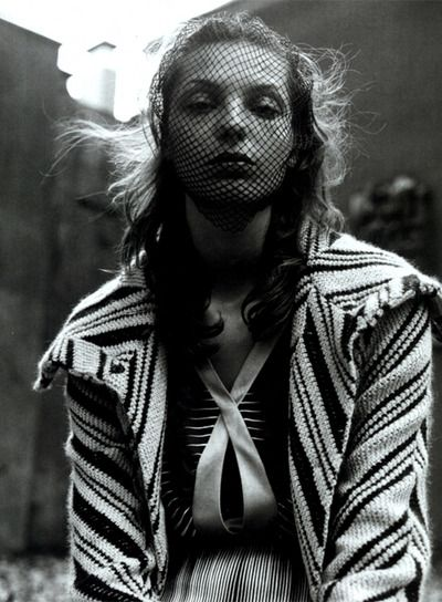 Print, Daria Werbowy photographed by Steven Meisel in Vogue Italia July 2003