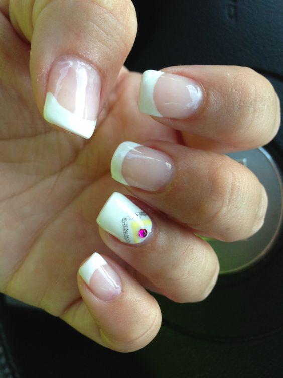 Classy summer nails vacation nails