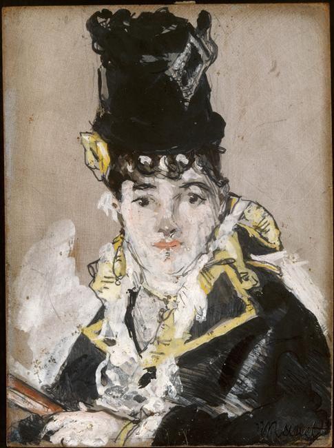 Nina de Callias Villard by Manet