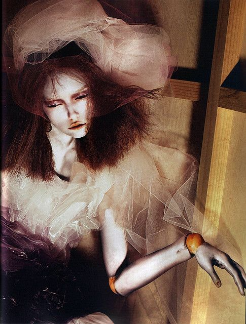 """I'm a marionette"" - POP Spring/Summer 2007 (No. 15) - Mert Alas & Marcus Piggott by destevenmeisel, via Flickr"