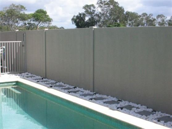 Fence Designs By Modular Wall Systems | Fence | Pinterest