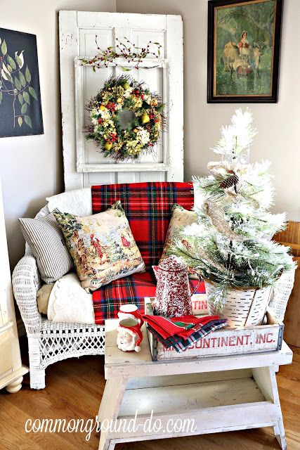 common ground : Christmas Kitchen: and Yes, it's Plaid!