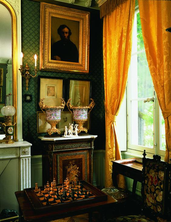 Chambre à coucher de Gustave Moreau, Paris, musée Gustave Moreau: