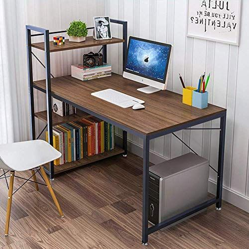 Tower Computer Desk With 4 Tier Shelves 47 6 Multi Level