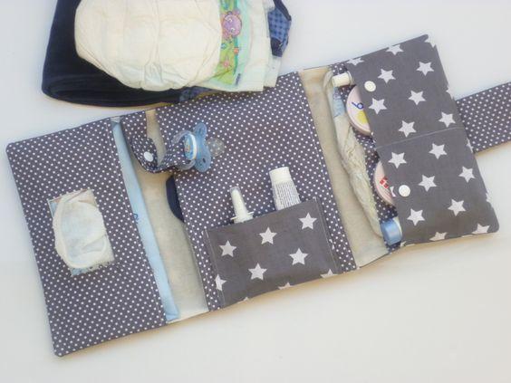 *Supreme* Windeltasche -->3 Seiten alles dabei von Fareimli-handmade auf DaWanda.com