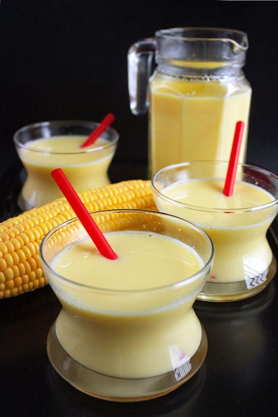 Công thức nấu ăn Việt Nam - Chế độ ăn kiêng sữa ngô ngọt không chứa Gluten tại nhà - Sua Bap