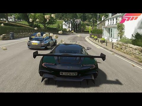 Forza Horizon 4 Aston Martin Vulcan Goliath Race 3440x1440 21 9 Gameplay Youtube Aston Martin Vulcan Forza Horizon 4 Aston Martin