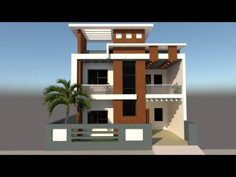 Google Sketchup 3d Model To Realstic Rendering In Vray 3 4 Tutorial Video Youtube Modern Style House Plans Home Design Floor Plans Google Sketchup