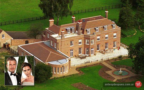 David y Victoria  Beckham's House