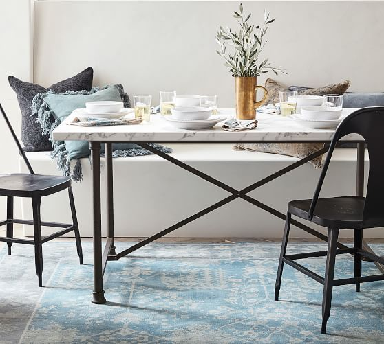 15 Best Pottery Barn Dining Tables On Sale Marble Top Dining