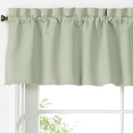 jcpenney.com   Facets Rod-Pocket Tailored Valance $17.99