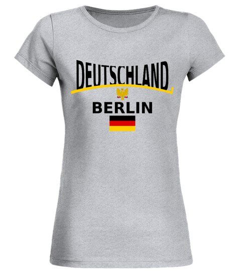 Deutschland Berlin Limitierte Edition Rundhals T Shirt Frauen Shirts Fussballtshirt With Images Shirts Mens Shirts T Shirt
