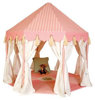 Rose Pink Pavilion Play Tent