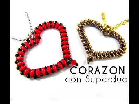 Como hacer un Corazon con Superduo - YouTube