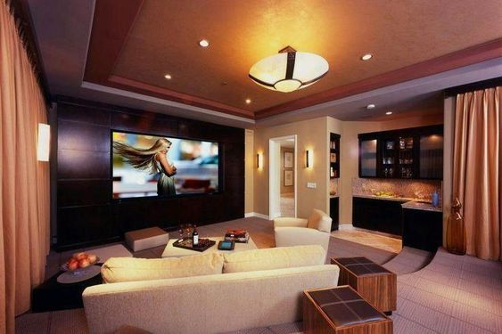 Make Room for Your Own Cinema tag: home theater ideas 2017, home theater ideas basement, home theater ideas designs ,home theate .. #diyhometheater