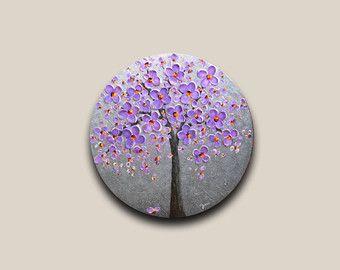Abstracte boom kersenbloesem schilderen op 20 x 24 x 3/4 diep ovale vorm in stijl doek zonder frame te kopen. De rijke bruine tinten van romige karamel aan donkere chocolade van dit abstract landschap schilderij ongelooflijke warmte en elegantie zal toevoegen aan elke ruimte van het kantoor aan huis en zal laten een blijvende indruk op de gasten. Volledige van dikke impasto textuur witte, crème kersenbloesem boom schilderij ziet er gewoon geweldig. Deze moderne wand decor is gemaakt met een…