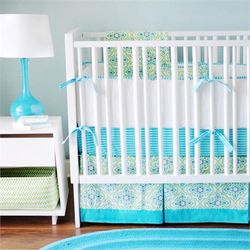 @rosenberryrooms is offering $20 OFF your purchase! Share the news and save! (*Minimum purchase required.) Monterey Bay Crib Bedding Set #rosenberryrooms