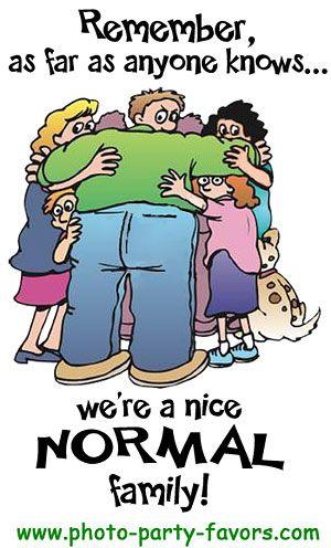 Family Reunion Cartoon Remember, as far as anyone knows
