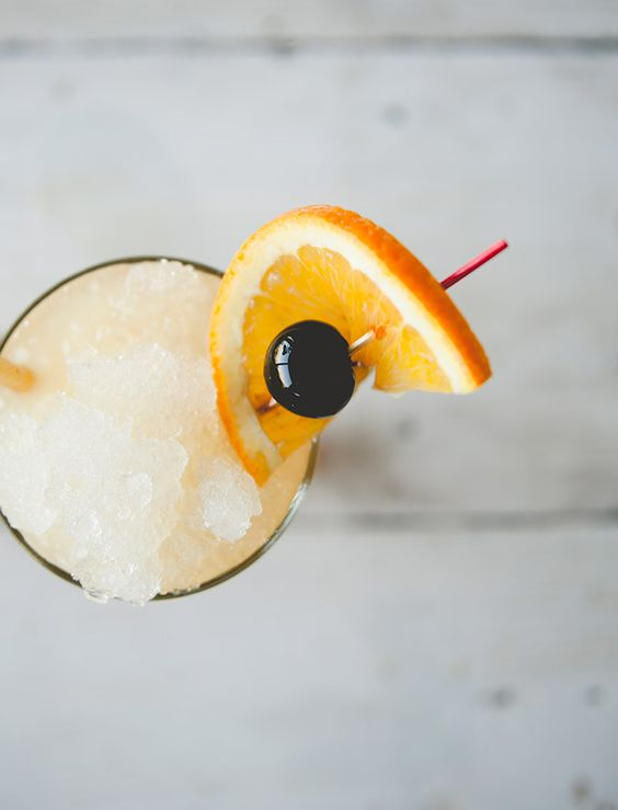 Get the recipe for this shockingly good shark attack cocktail...: