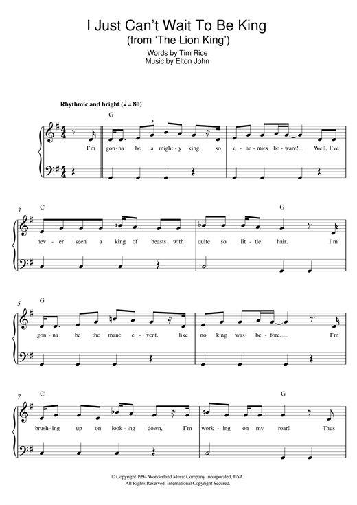 nouvelle partition piano sur modern score   elton john  i