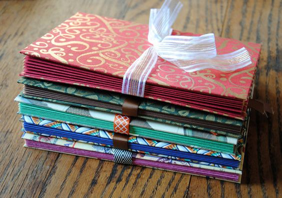 Custom Envelope Book- 6 to 10 envelopes
