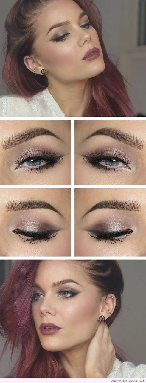 Linda Hallberg wonderful makeup colors on We Heart It