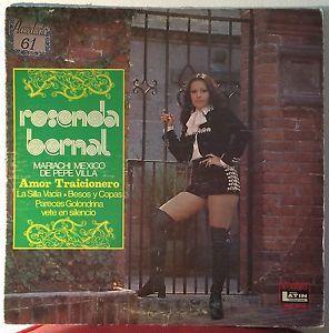 ROSENDA BERNAL rosenda bernal LP VG DLIS-5006 Vinyl 1974 Discos Latin | eBay