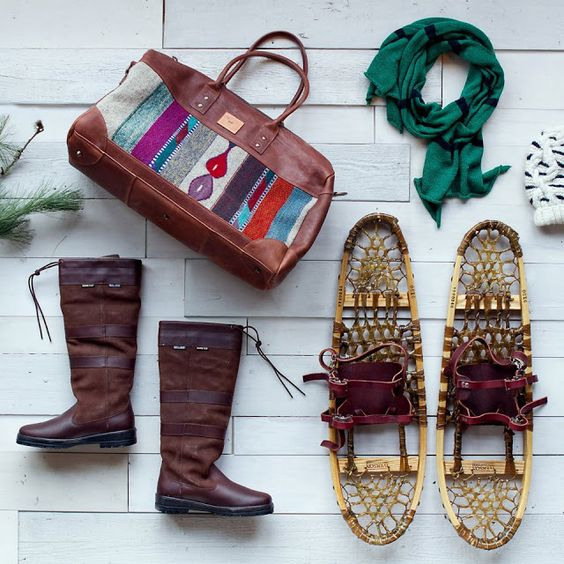 makers workshop: Holidays with Terrain. #fall #apparel #christmas #boots #snow