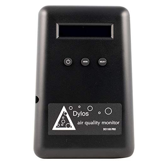 Dylos Dc1100 Pro Emi For Air Purifier Testing Review Air Quality Monitor Air Quality Air Purifier
