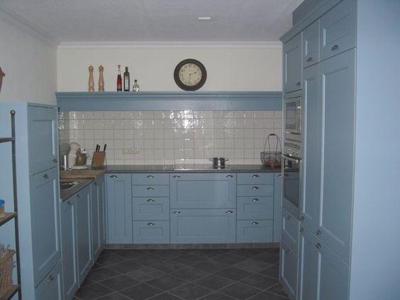 Piet Zwart Keuken Blauw : blauwe keuken more huis keuken meestal blauwe intrieur idee?n kitchen