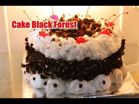 Cara Membuat Blackforest Simple Chocolatos Youtube Ulang