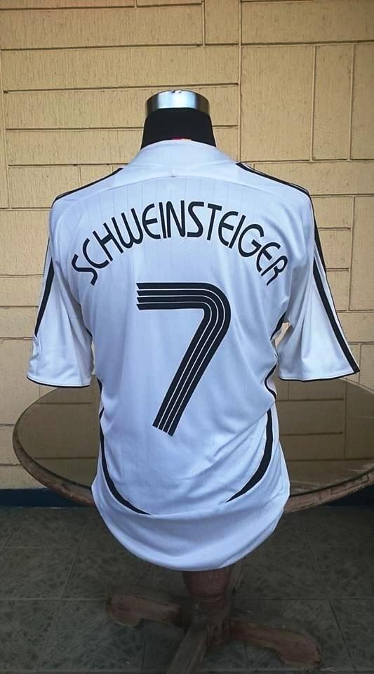 Germany 2006 Fifa World Cup Schweinsteiger 7 Home Jersey Adidas Climacool Shirt Trikot Football Shirts Football Jerseys Football