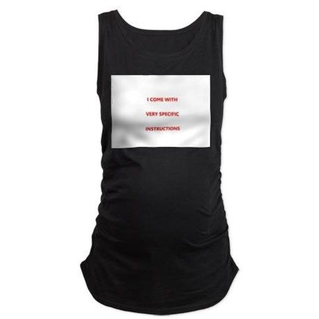 Maternity Tank Top on CafePress.com
