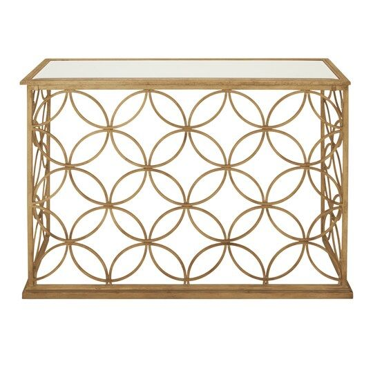47 Gold Traditional Metal Console Table In 2021 Metal Console Table Glass Console Table Traditional Console Tables Gold metal console table
