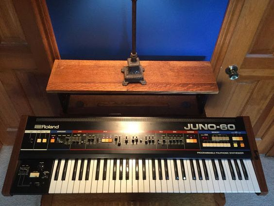 MATRIXSYNTH: Roland JUNO 60 Vintage Synth With JSQ-60 Remote