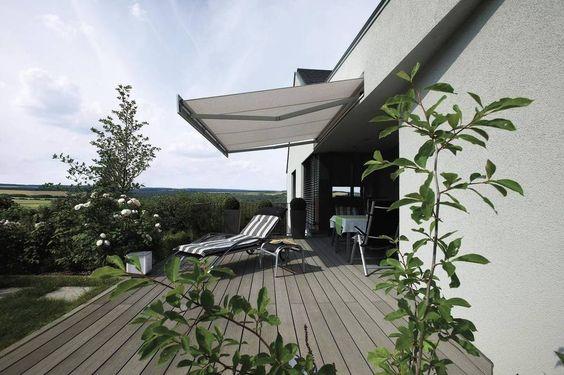 Terrassen-Markisen - Peter Anderlohr Stahlbau Sonnenschutztechnik