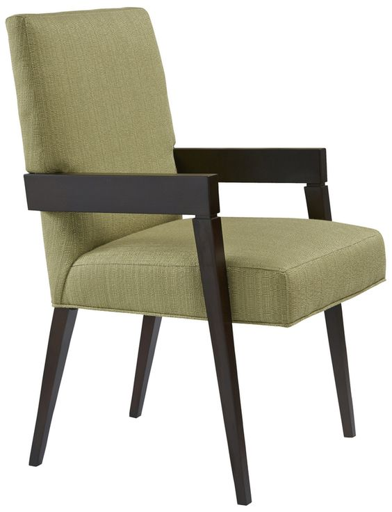 Mc Queen Chair By Michael Wolk  Transitional, Upholstery  Fabric, Wood, Dining Room by Tomlinson