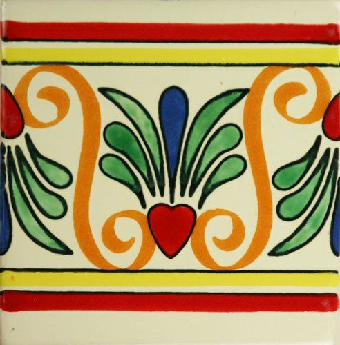 Especial Mexican Tile - Corozon De Ave