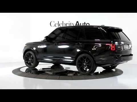 2013 Land Rover Range Rover Sc Rear Ent Vision Assist 22 Wheels Painted Trim Youtube Range Rover Range Rover Black Land Rover