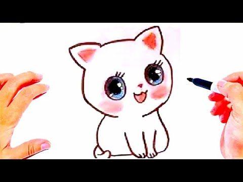 رسم سهل وكيوت رسم قطة سهلة وجميلة رسومات سهله وبسيطة How To Draw A Cat Youtube Character Pikachu Fictional Characters