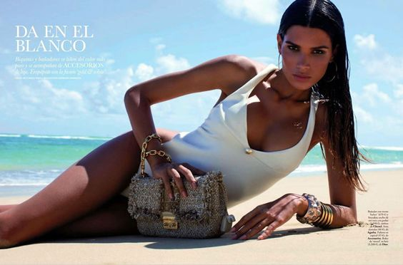 Elle Spain - July 2012 - Raica Oliveira - Summer Swimwear