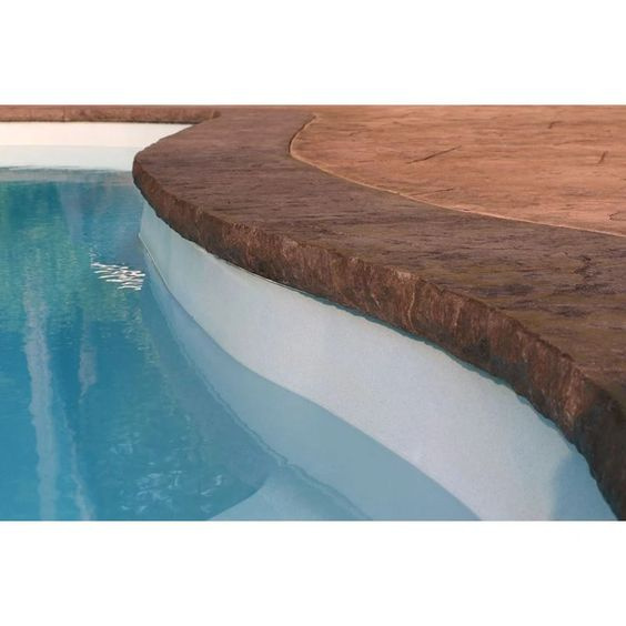 Poolform Form Liner 3 Chiseled Stone Edge In 2020 Concrete Countertops Stone Outdoor Decor