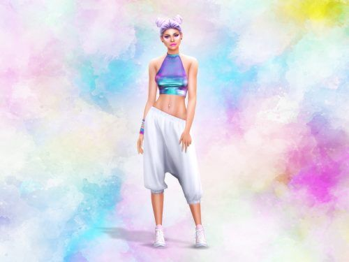 Watercolor Cas Background Sims 4 Sims 4 Cas Background Sims