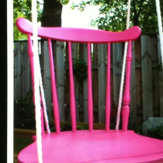 An old chair that has a broken leg